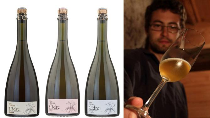 Julien Thurel Equinoxe cuvée de garde, Cuvée Nectar, Cuvée Champêtre