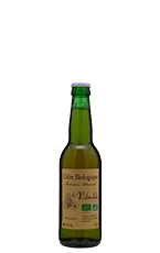 Cidre Biologique Brut 33 cl